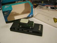 Modellino Mini Cooper 1969 della Solido scala 1:43 made in France