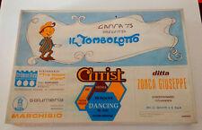 IL TOMBOLOTTO 1978- GAMMA 75- OTTIMO!!!-VINTAGE !!GIOCO PUBBLICITARIO REGIONALE