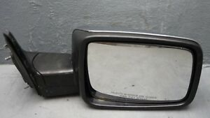 09 10 11 12 Dodge Ram 1500 Passenger Right Side Chrome Manual Adjust Door Mirror