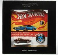 Hot Wheels RLC Custom Corvette Original 16 NEO Redline HWC Free Shipping
