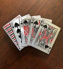 Deck Of Playing Cards Magic Trick Magician Metal Unisex Men's Belt Buckle