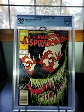AMAZING SPIDER-MAN 346 CBCS 9.6 NOT CGC NEWSSTAND. W/PAGES. VENOM COVER AND APP.