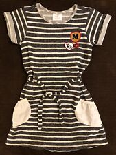 HANNA ANDERSSON DISNEY MINNIE MOUSE KNIT STRIPED DRESS GIRLS 110 size 5 6