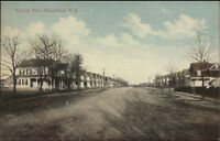 Hempstead Long Island NY Thorne Ave c1910 Postcard