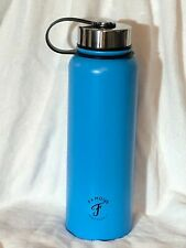 Famous Surf Supply Aqua Teal Stainless Steel Water Bottle Thermos Flask 24 oz