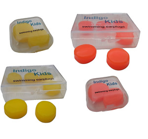 Soft silicone moldable  ear putty earplugs for swimming kids children size