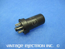 (1) 6Ac7 Vacuum Tube - Rca - Usa - 1950's (Stamped Base)