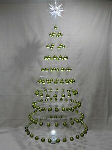 STUNNING MINIMALIST HANGING CHRISTMAS TREE by AA DESIGNS LLC. Over 7 1/2 ' Tall