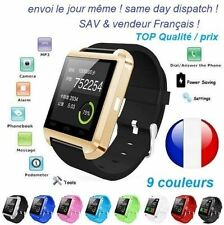 Gold Smart Watch Bluetooth Connected mobile phone Android IOS New 2018