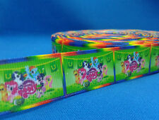 1 metre length of My Little Pony design Cake/Hair/craft ribbon @ MrsMario's