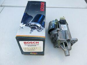 BOSCH Starter Motor Reman fits 86-90 Chrysler, Dodge, Plymouth (SR100X)