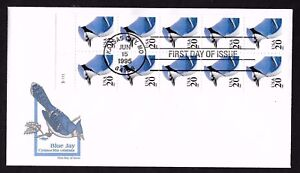 #2483a 20c Blue Jay- Artmaster FDCBP10