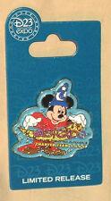 Disney 2009 D23 Expo Charter Year Logo Pin