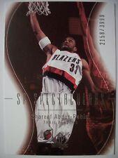 2003-04 SP AUTHENTIC SHAREEF ABDUR RAHIM # 96  048 /100 BLAZERS !!!  BOX  # 33