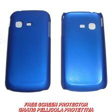 Pellicola + custodia BACK cover BLU per Samsung Galaxy Chat B5330
