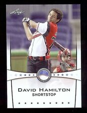 DAVID HAMILTON 2013 Leaf *POWER SHOWCASE* World Classic Baseball Card RC