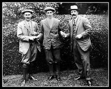 Francis Ouimet Harry Vardon Ted Ray Photo 8X10 -  1913 US Open British American