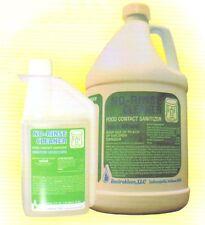 2 Gallons ENVIROKLEEN No-Rinse Sanitizer & Milkstone Remover-Makes 1024 Gallons!