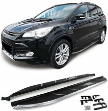 Aluminium footboard side step side board for Ford Kuga II DM2 from 13