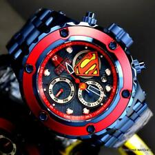 Invicta Reserve DC Comics Superman Specialty Subaqua Blue 52mm Swiss Watch New