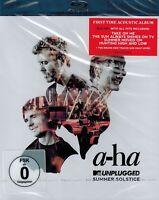 BLU-RAY NEU/OVP  - A-Ha - MTV Unplugged - Summer Solstice