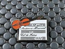 pins pin BADGE MUSIQUE MUSIC VIOLON VAL DE SAONE