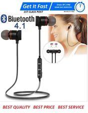 Sports In-Ear Wireless Earphones Bluetooth 4.1 Stereo Headphones Headsets W/ Mic