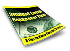 Student Loan Repayment Tips for the Life of Your Loans Free Shipping  PDF