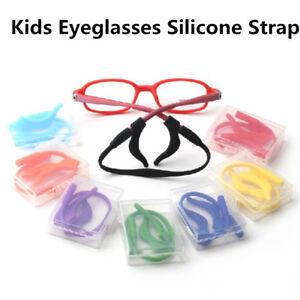 Silicone Kids Band Strap+Ear Hooks Glasses Sunglasses Eyeglass Holder Lot au