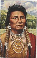 1993 Legends of the West Nez Perce Chief Joseph FD Post Card EXCELLENT