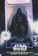 Star Wars Deluxe Electronic Darth Vader Thinkway Talking Bank New 1996