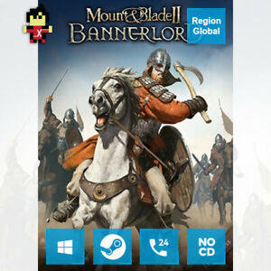 Mount & and Blade II 2 Bannerlord for PC Game Steam Key Region Free