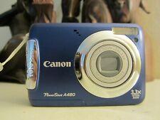 Canon PowerShot A480 10.0MP Digital Camera - Blue