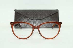 Brand New Ladies Gucci Glasses Model GG0093O Gucci Case with free SV lenses