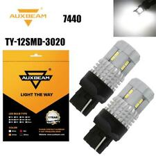 AUXBEAM 2X 7443 7440 LED Reverse Light Brake Tail Light Parking Light DRL Bulbs