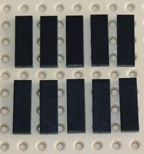 Lego Black Tile 1x3 10 pieces NEW!!!