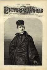 1875 Miss Ellen Terry come Portia Travestimento DR DELLE LEGGI