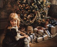 Sandra Kuck CHRISTMAS DAY 16x20 open edition unframed holiday art OUT OF PRINT