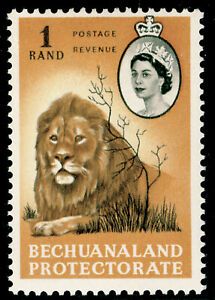 BECHUANALAND SG180, 1r black & cinnamon, NH MINT. Cat £11.