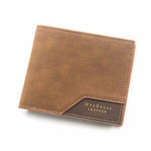 Money clip Short Money Bag Business Card Holder Small Coin Purse Men Wallet