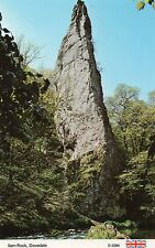 Derbyshire - Dovedale, Ilam Rock - Postcard
