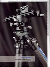 Leofoto Catalog 2020-2021 100 Page Glossy Tripod Heads Clamps Accessories