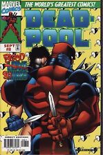 DEADPOOL #8 Marvel Comics Wolverine X-Men Ed McGuinness RARE EARLY 1ST PRINTING!