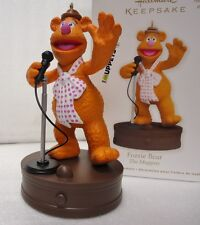 HALLMARK 2012 Fozzie Bear The Muppets Magic Light and Sound Ornament NEW