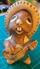 PenDelfin Rabbit Figurine - Rocky Green - New, Free Usa Shipping -Rare Piece