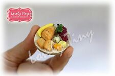 Miniature Food: A set of Fruit,Cracker and Cheese Set2