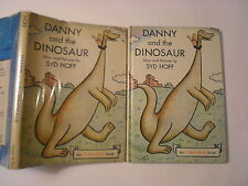 Danny and the Dinosaur, Syd Hoff, Harper and Row, DJ, Early Edition