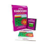 Kaboom! (Atari 2600) Activision AG-010 CIB Complete in Box w/ Manual Tested
