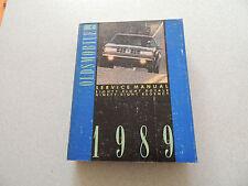 Oldsmobile 88 Royale 98 Regency 1989 SHOP Service Manual Officina Manuale