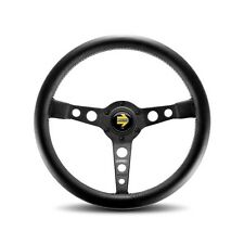 MOMO Prototipo Black Steering Wheel Porsche BMW  PRO35BK2B Classic Style